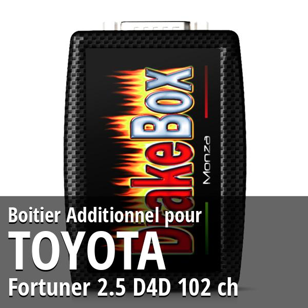 Boitier Additionnel Toyota Fortuner 2.5 D4D 102 ch