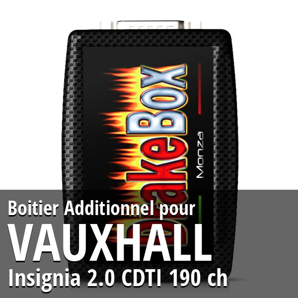 Boitier Additionnel Vauxhall Insignia 2.0 CDTI 190 ch
