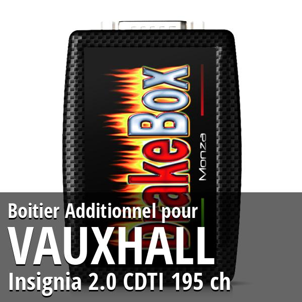 Boitier Additionnel Vauxhall Insignia 2.0 CDTI 195 ch