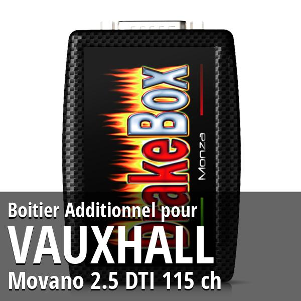 Boitier Additionnel Vauxhall Movano 2.5 DTI 115 ch
