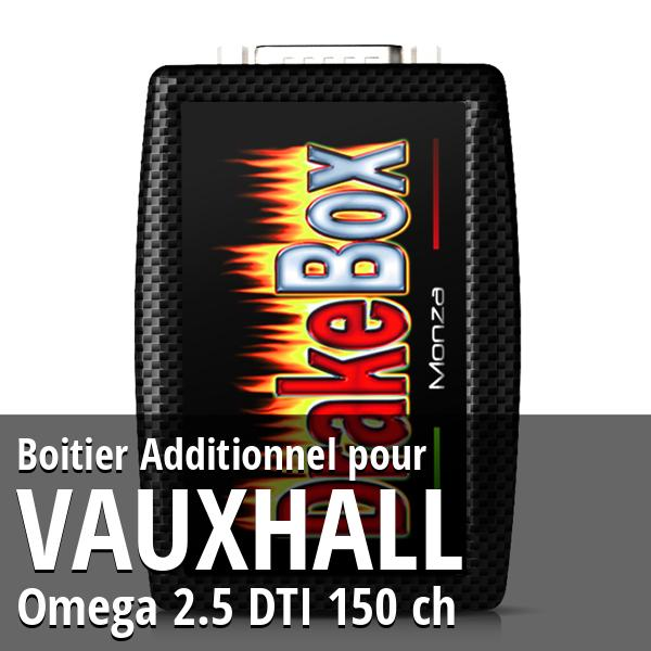 Boitier Additionnel Vauxhall Omega 2.5 DTI 150 ch