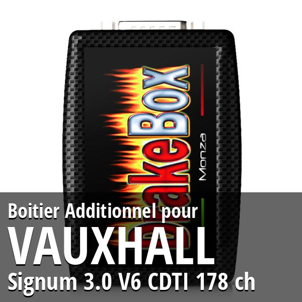 Boitier Additionnel Vauxhall Signum 3.0 V6 CDTI 178 ch