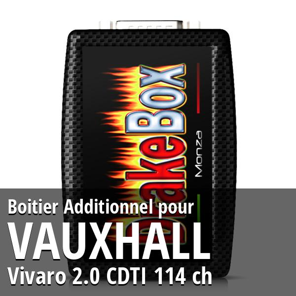 Boitier Additionnel Vauxhall Vivaro 2.0 CDTI 114 ch