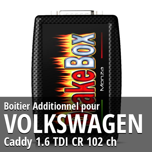 Boitier Additionnel Volkswagen Caddy 1.6 TDI CR 102 ch