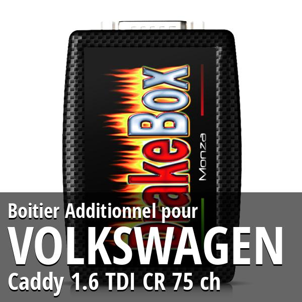 Boitier Additionnel Volkswagen Caddy 1.6 TDI CR 75 ch