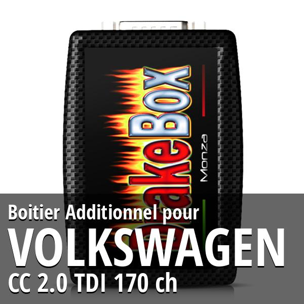Boitier Additionnel Volkswagen CC 2.0 TDI 170 ch