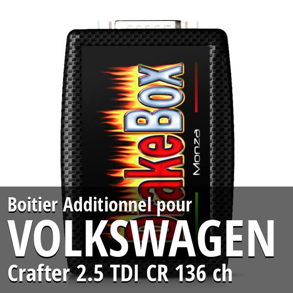 Boitier Additionnel Volkswagen Crafter 2.5 TDI CR 136 ch