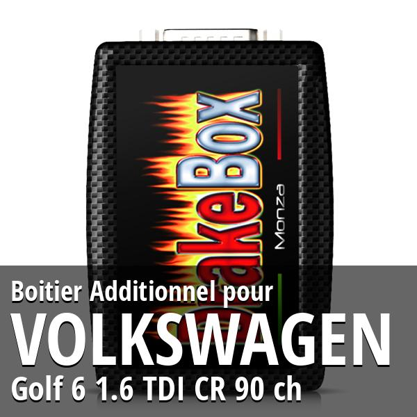 Boitier Additionnel Volkswagen Golf 6 1.6 TDI CR 90 ch