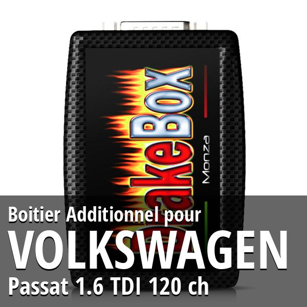 Boitier Additionnel Volkswagen Passat 1.6 TDI 120 ch