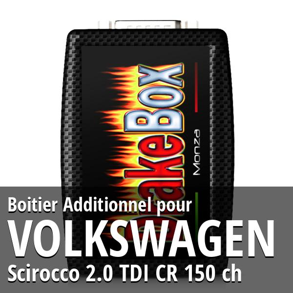 Boitier Additionnel Volkswagen Scirocco 2.0 TDI CR 150 ch
