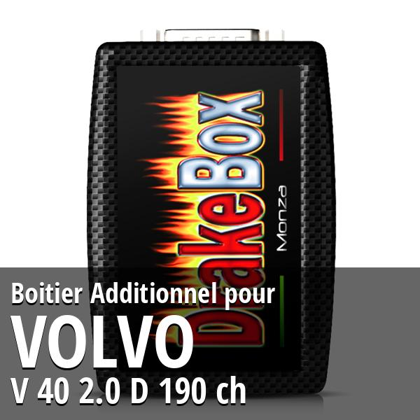 Boitier Additionnel Volvo V 40 2.0 D 190 ch