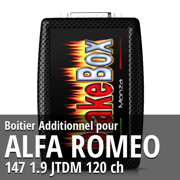 Boitier Additionnel Alfa Romeo 147 1.9 JTDM 120 ch