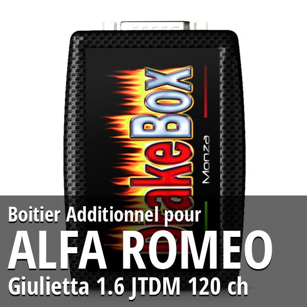 Boitier Additionnel Alfa Romeo Giulietta 1.6 JTDM 120 ch