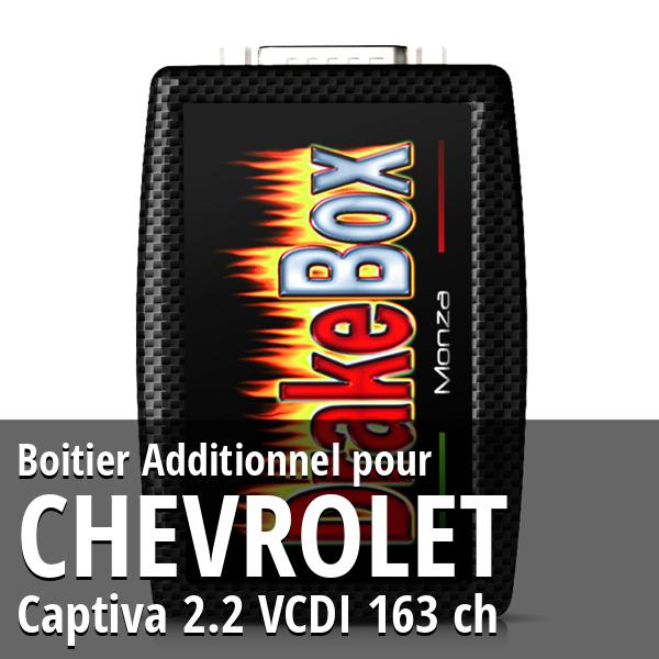 Boitier Additionnel Chevrolet Captiva 2.2 VCDI 163 ch
