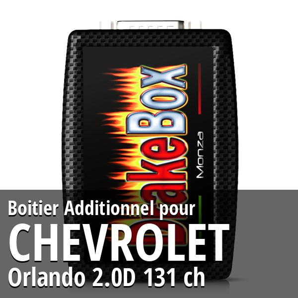 Boitier Additionnel Chevrolet Orlando 2.0D 131 ch