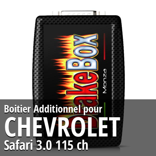 Boitier Additionnel Chevrolet Safari 3.0 115 ch
