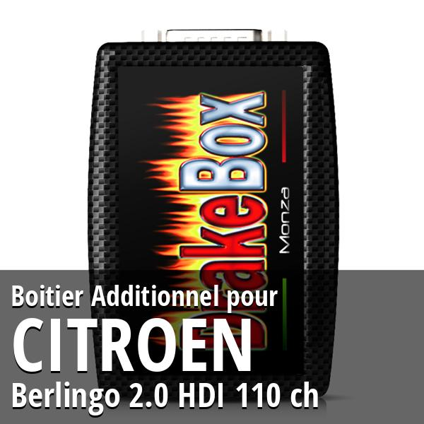 Boitier Additionnel Citroen Berlingo 2.0 HDI 110 ch