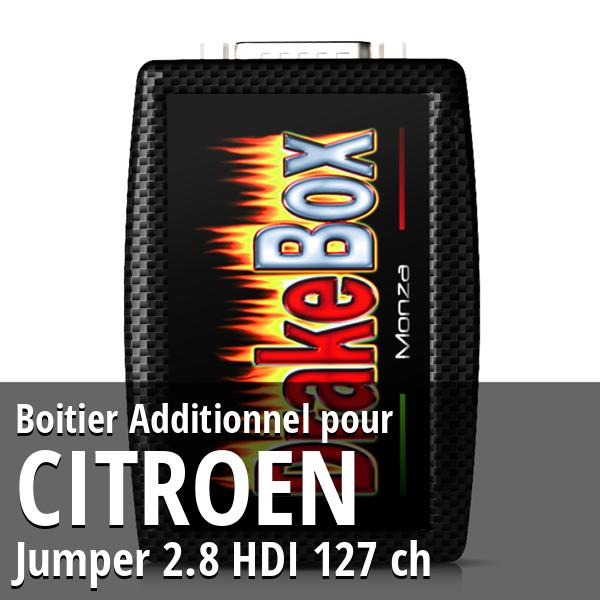 Boitier Additionnel Citroen Jumper 2.8 HDI 127 ch