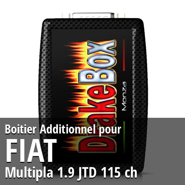 Boitier Additionnel Fiat Multipla 1.9 JTD 115 ch