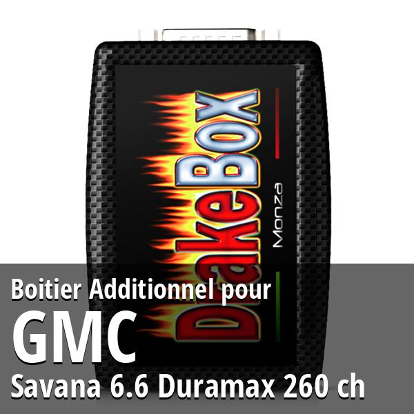 Boitier Additionnel GMC Savana 6.6 Duramax 260 ch