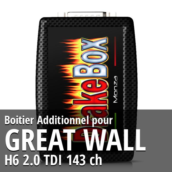 Boitier Additionnel Great Wall H6 2.0 TDI 143 ch