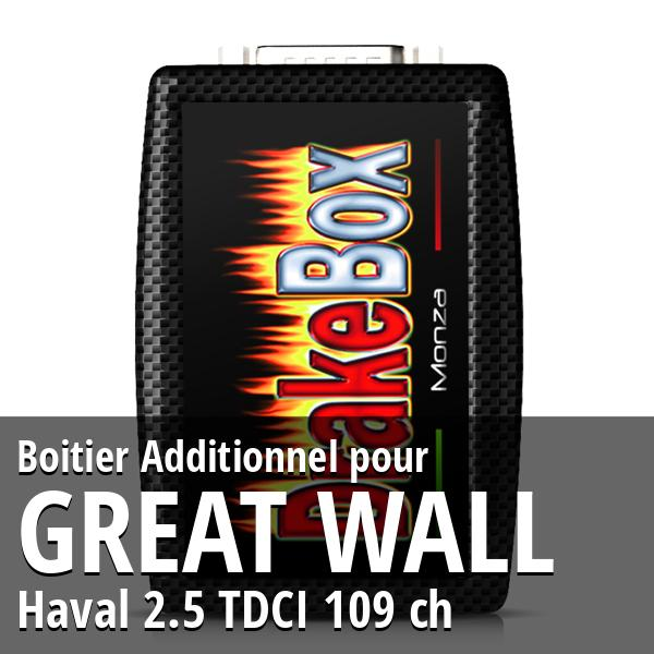 Boitier Additionnel Great Wall Haval 2.5 TDCI 109 ch