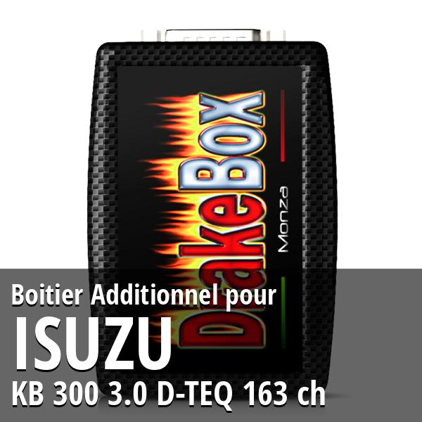 Boitier Additionnel Isuzu KB 300 3.0 D-TEQ 163 ch