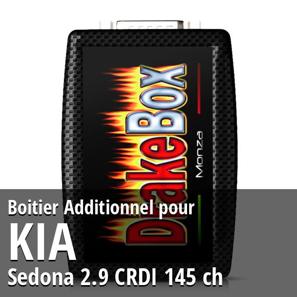 Boitier Additionnel Kia Sedona 2.9 CRDI 145 ch