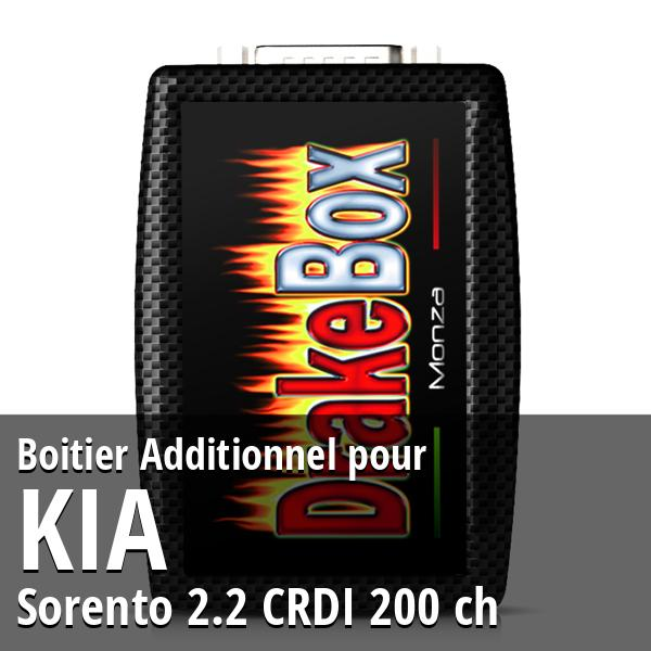 Boitier Additionnel Kia Sorento 2.2 CRDI 200 ch