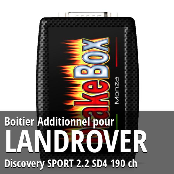 Boitier Additionnel Landrover Discovery SPORT 2.2 SD4 190 ch