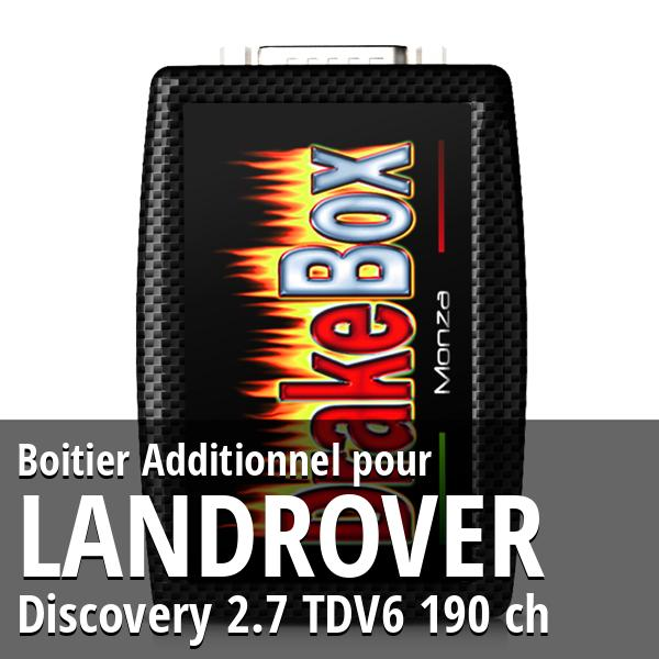 Boitier Additionnel Landrover Discovery 2.7 TDV6 190 ch