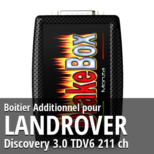 Boitier Additionnel Landrover Discovery 3.0 TDV6 211 ch