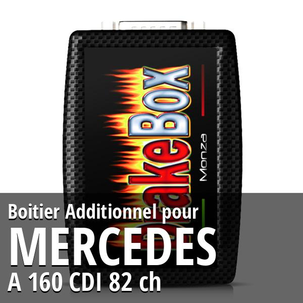 Boitier Additionnel Mercedes A 160 CDI 82 ch