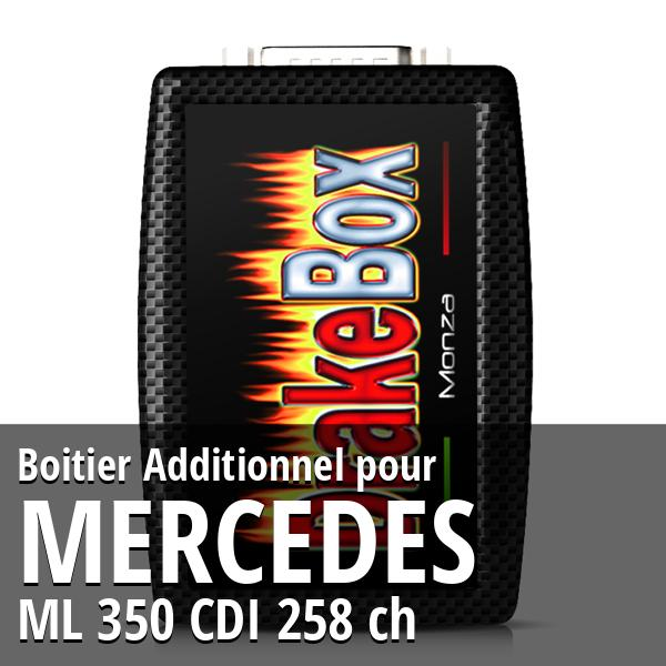 Boitier Additionnel Mercedes ML 350 CDI 258 ch