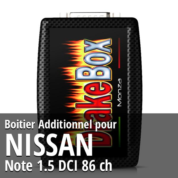 Boitier Additionnel Nissan Note 1.5 DCI 86 ch