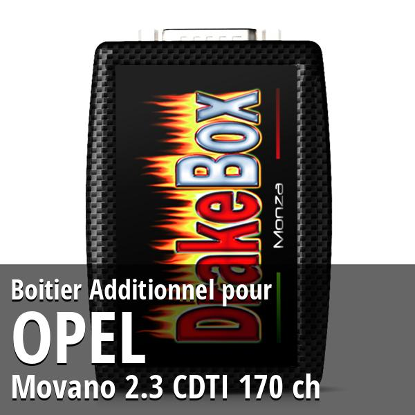 Boitier Additionnel Opel Movano 2.3 CDTI 170 ch