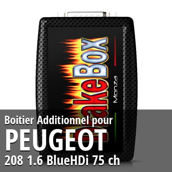 Boitier Additionnel Peugeot 208 1.6 BlueHDi 75 ch