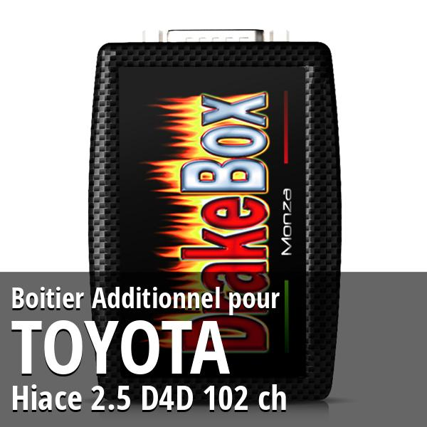 Boitier Additionnel Toyota Hiace 2.5 D4D 102 ch
