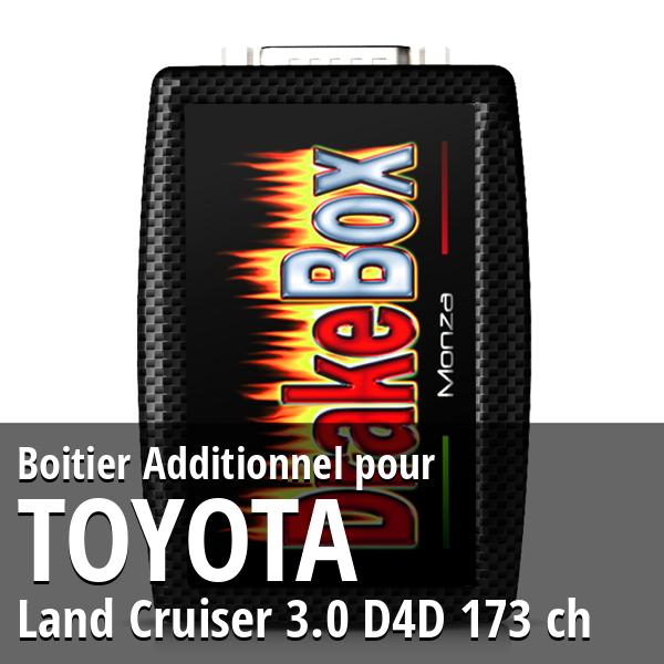 Boitier Additionnel Toyota Land Cruiser 3.0 D4D 173 ch